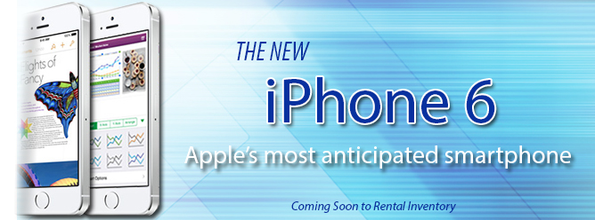 iPhone 6 Rentals Delivered Nationwide from Rentacomputer!