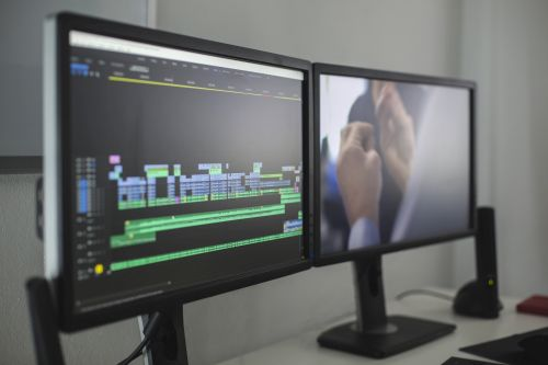 Event Professionals using Video Editing